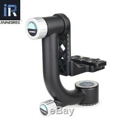INNOREL CH5 Professional Carbon Fiber Gimbal Tripod Head for Telephoto Lens Bird