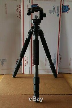 Induro Ct214 Carbon 8x Tripod With Manfrotto 128rc Head