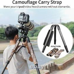 Innorel RT90CM Carbon Fiber Tripod 75mm with N52 head with Camouflage Sleeve