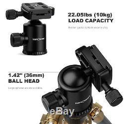 K&F Concept Professional DSLR Camera Carbon Fiber Tripod Monopod Ball Head Mount