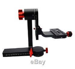 Koolehaoda Gimbal Tripod Head 360°Panoramic Head with 100mm Quick Release Plate