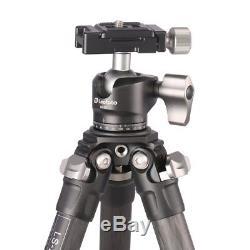 Leofoto LS-223C + LH25 Carbon Fiber Mini Tripod & 25mm Low Profile Ball Head Kit