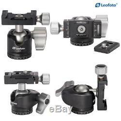 Leofoto LS-223C Mini Tripod + LH-25 Ball Head Portable Carbon Fiber Camera