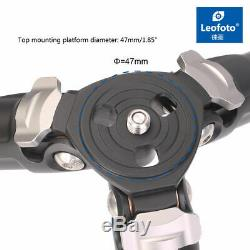 Leofoto LS-324C-LH-40 Tripod Kit Legs + Low Profile Ball Head Carbon Fiber CF
