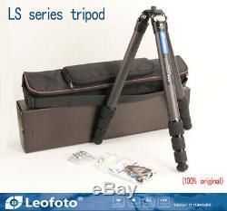 Leofoto LS-324C Professional Carbon Fiber Tripod Without Ball Head