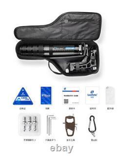 Leofoto LS-365C + PG-1 Tripod Professional Carbon Fiber with Gimbal Head