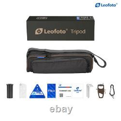 Leofoto LX-225CT+XB-32Q Tripod with Ball Head Professional Carbon Fiber 20% OFF
