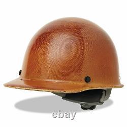 MSA Full Brim Hard Hat Carbon Fiber Adjustable Construction Helmet Impact Head