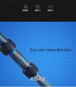 Manbily DT-01C Professional Carbon Fiber Mini Tripod Folded Tripode Compact Head