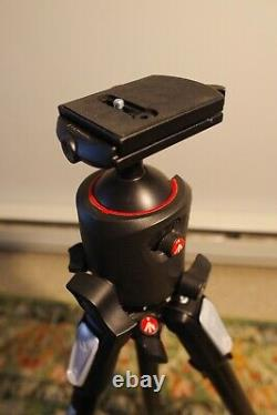 Manfrotto 055 Magnesium and Carbon Fiber Tripod with 057 Magnesium Ball Head