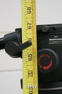 Manfrotto 503 Video Fluid Head + Induro 8x Carbon Fiber Tripod 75mm LFBC333
