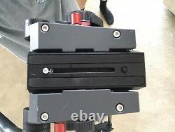 Manfrotto 504HD Head & Carbon Fiber Twin Leg Video Tripod Kit, & Ground Spreader