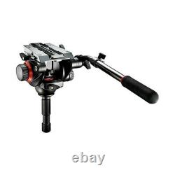 Manfrotto 504HD Head with535 2 Stage Video Tripod System Carbon Fiber BRAND NEW