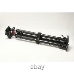 Manfrotto 504X Fluid Video Head with 635 Carbon Fiber Fast Single Leg Tripod