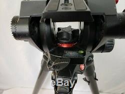 Manfrotto 535 MPRO Carbon Fiber Tripod with 504HD Video Ball Head