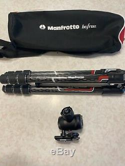 Manfrotto Befree GT Travel Tripod Kit and 496 Ball Head, Carbon Fiber