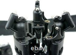 Manfrotto CF PRO Carbon Fiber Tripod 503 FLUID HEAD BAG 2PL 75/100 SERVICED 25Lb