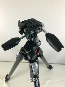 Manfrotto MT055CXPRO3 Carbon Fiber Tripod with 3-Way Pan/Tilt Head