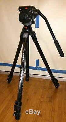 Manfrotto Magfiber Carbon Fiber Tripod System with 501 HDV Video Head 055 3433