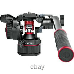 Manfrotto NITROTECH N8 Fluid Video Head with 535 Video Tripod Kit