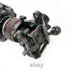 Manfrotto Nitrotech 608 Series Fluid Video Head with 645 CF Tripod SKU#1307302