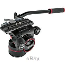 Manfrotto Professional Nitrotech N8 Fluid Video Head & 536 Carbon Fiber Tripod