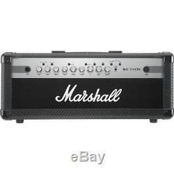 Marshall MG Series MG100HCFX 100W Guitar Amp Head Carbon Fiber LN