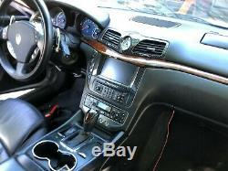 Maserati Grancabrio/granturismo Carbon Fiber Clock A/c & Head Unit Bezel Set