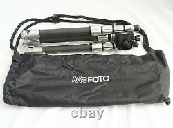 Mefoto Backpacker S Carbon Fiber Travel Tripod Arca Swiss Head MINT Open Box