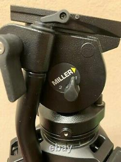 Miller AIR Solo 75 2 Stage Carbon Fiber Tripod System with AIR Fluid Head