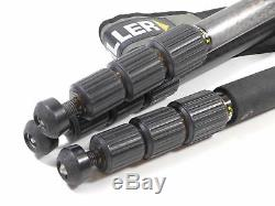 Miller Arrow 40 Head & Carbon Fiber 3 Stage Legs Tripod 100mm 1709 Up to 35 lb