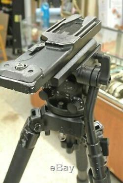 Miller Arrow 40 Head & Carbon Fiber 3 Stage Legs Tripod Sony Camera Plate