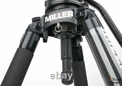 Miller Arrow X3 Fluid video head Solo 100 carbon fibre legs 19KG (like Sachtler)