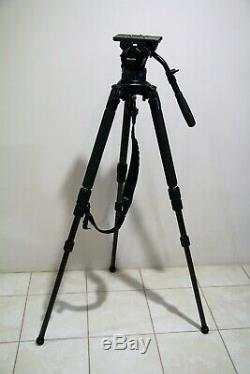 Miller Compass 25 (100mm Head) with Solo Carbon Fiber legs Tripod