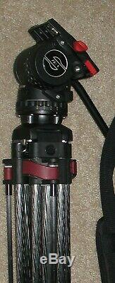 Minty Sachtler Carbon Fiber Speed Lock 75 CF Tripod with FSB 6 Head