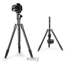 NEEWER Carbon Fiber 66/168cm Camera Tripod Monopod with 360° Ball Head UKstock