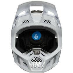 NEW Fox Racing Rampage Pro Carbon RPC Downhill MTB DH Helmet Wurd White Medium