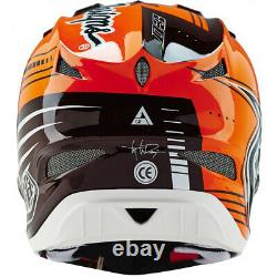 NEW Troy Lee Designs TLD D3 Carbon MTB Bicycle Helmet Berzerk Red/Black Medium