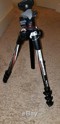 NICE Manfrotto MKBFRC4-BH Befree Carbon Fiber Tripod with Ball Head