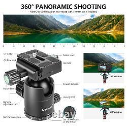 Neewer 79 Carbon Fiber Camera Tripod Monopod Camera Bracket with Ball Head