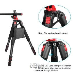 Neewer Camera Tripod with 360 Degree Rotatable Center Column & Ball Head QR Plate