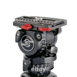 New Sachtler FSB 6 Fluid Head with Sideload Camera Plate & Pan Bar MFR # 0407