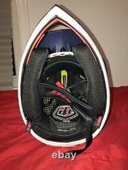 New Troy Lee Designs D3 Carbon MIPS Downhill MTB Helmet Freedom Blue Medium