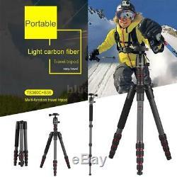 OBO Lightweight Carbon Fiber 61 Portable Tripod Monopod Ball Head for Cameras