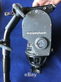 OConnor 1030B 100mm Fluid Head for Tripod plus Pan Handle Quick Release Plate