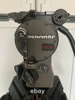 OConnor 1030B Head + Sachtler 100mm Speed Lock Carbon Fiber Sticks