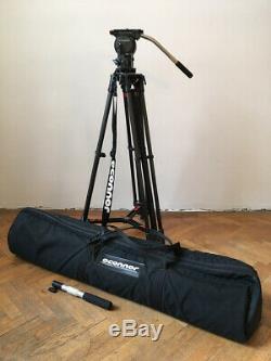 OConnor O'Connor 515 Fluid Head / 100mm / + 35L Carbon Fiber Tripod Stativ + Bag