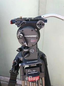 OConnor Ultimate 1030S Fluid Head & Oconnor CF Tripod with Mid-Level Spreader