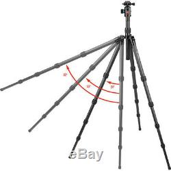 OPEN BOX Oben CT-3581 Carbon Fiber Tripod With BE-126T Ball Head Free Shipping