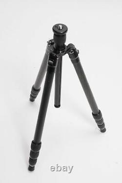 Oben CT-3400 4-Section Carbon Fiber Folding Tripod with Ball Head #212